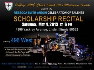 DuPage AME Church Celebration of Talents 2013