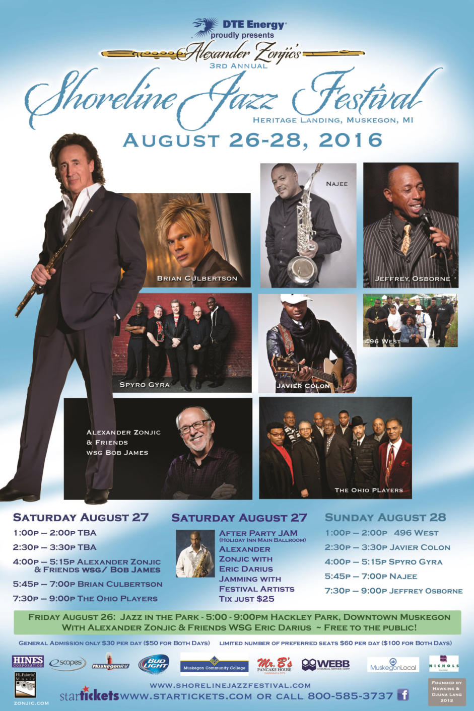 Shoreline Jazz Festival 2016