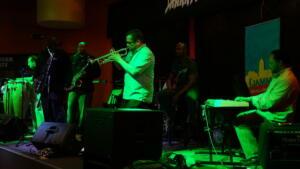 Jeff on trumpet